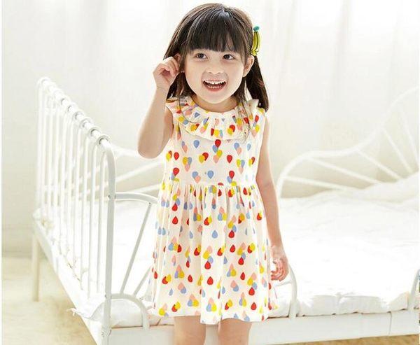 女童洋裝嬰幼兒0純棉洋氣公主裙3歲2女小寶寶夏裝1兒童裝裙子夏   芊惠衣屋
