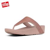 【FitFlop】LOTTIE GLITZY TOE-THONGS 經典水鑽夾腳涼鞋-女(玫瑰金)