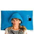 【Hoodie Pillow】連帽枕頭套 藍色