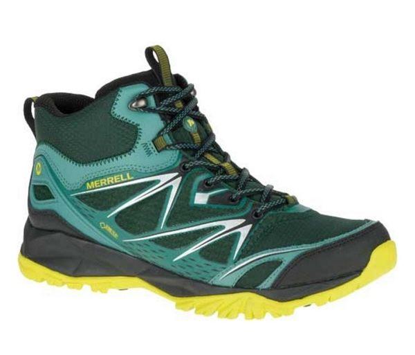 【山水網路商城】美國 MERRELL CAPRA BOLT MID GORE-TEX 黃金鞋底健行鞋/登山鞋 男款 ML35717