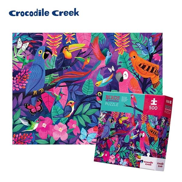 《美國Crocodile Creek》家庭主題拼圖-鳥兒天堂