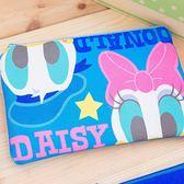 iaeShop 迪士尼DISNEY Q唐老鴨黛西 雙層收納包 化妝包 旅行包 萬用包 外出包 手提包 筆袋 Donald Daisy