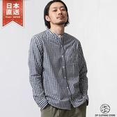 長袖襯衫 立領府綢襯衫 20色 XS-M