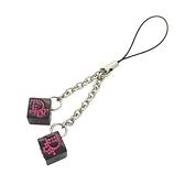 Dior 迪奧 黑色骰子手機吊飾 DICE Mobile Strap 【BRAND OFF】
