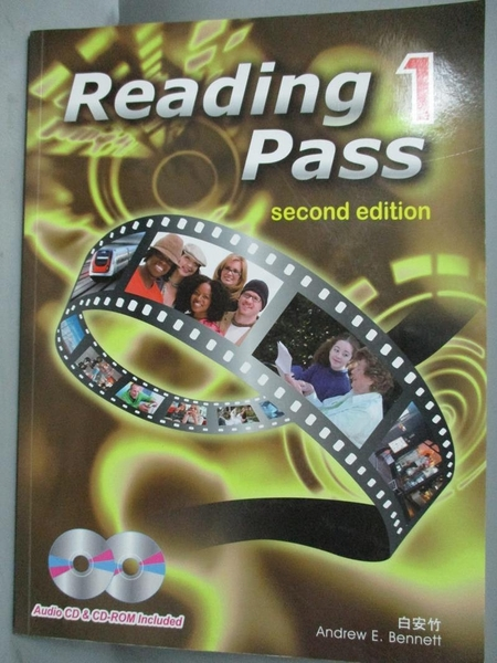 【書寶二手書T7/語言學習_ZIE】Reading pass 1(Second edition)_白安竹