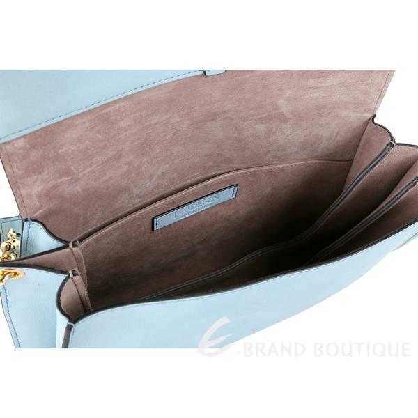 J.W. Anderson Pierce 中型小牛皮兩用鼻環包(水藍色) 1830028-27