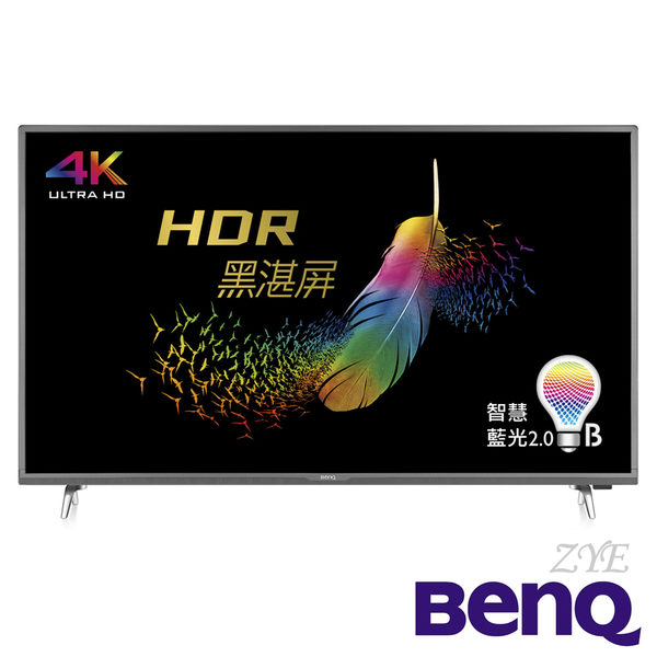 《送基本安裝&HDMI線》BenQ明基 50吋E50-700 4K HDR聯網液晶電視(顯示器+視訊盒)