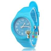 兒童手錶 電子錶兒童手錶女孩男孩防水韓國果凍錶小學生手錶電子錶小孩手錶石英錶 7色