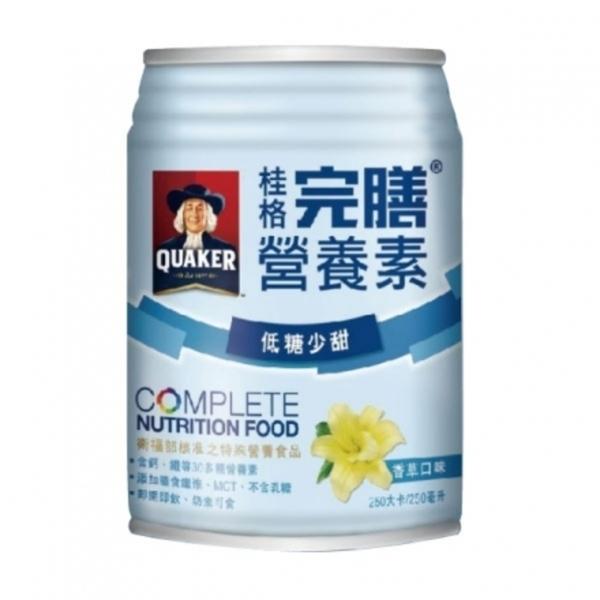 桂格完膳營養素-香草口味24入*250ml-箱購(低糖少甜)