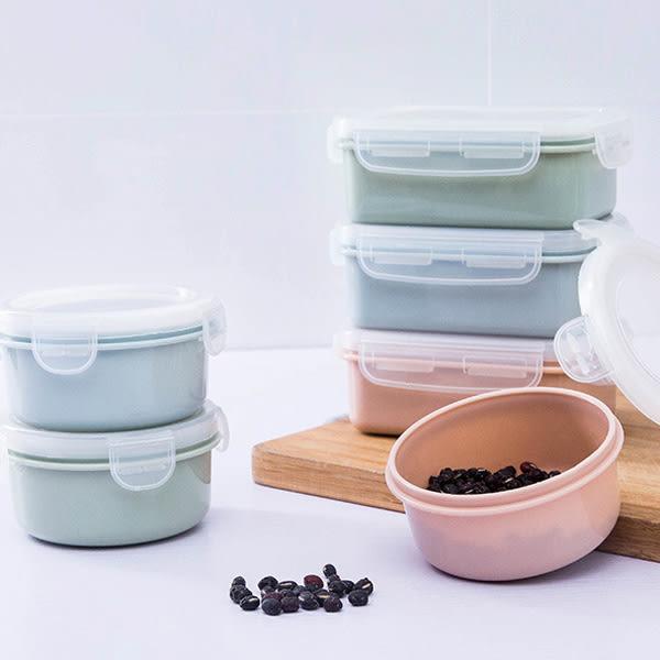 【BlueCat】迷你素雅冰箱密封保鮮盒(圓形)