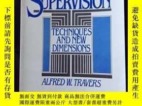 二手書博民逛書店Supervision:罕見Techniques And New Dimensions-監理:技術與新維度Y4