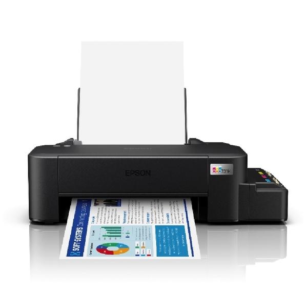 【搭T664原廠墨水一組】EPSON L121 超值單功能原廠連續供墨印表機