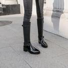 雨鞋 高筒雨鞋女長筒韓國時尚可愛外穿防滑雨靴防水膠鞋套鞋過膝靴子潮 西城故事