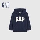 Gap男幼童 Logo毛圈內裡休閒上衣 567921-海軍藍