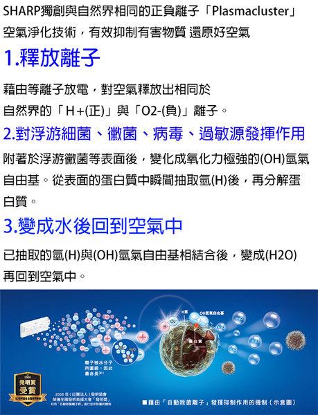【SHARP夏普】13L除濕機 DW-E13HT 免運費