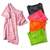 運動衫短袖 速干衣 女 速干衣男運動短袖跑步健身顯瘦彈力透氣夏季戶外t恤女 618搶購
