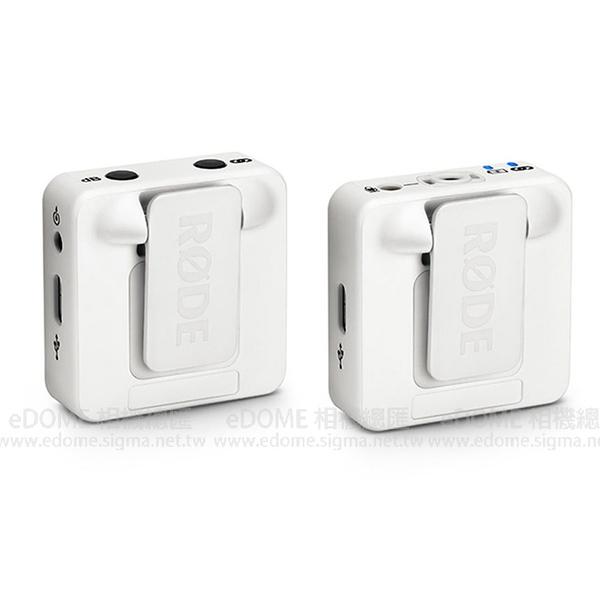 RODE 羅德 Wireless GO 白色 小型無線麥克風 2.4GHz (24期0利率 免運 正成公司貨) RD WIGO 微型 領夾式 腰掛