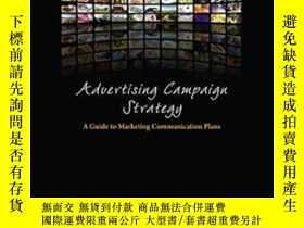 二手書博民逛書店Advertising罕見Campaign Strategy: A Guide To Marketing Comm