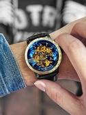 男士手錶 手錶男士機械錶男錶全自動鏤空運動潮流學生時尚防水特種兵