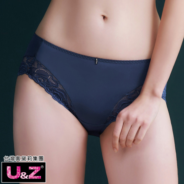U&Z-恬靜午後 中腰平口褲(海灣藍)-台灣奧黛莉集團