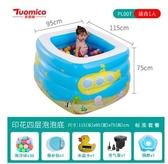游泳池 兒童游泳池充氣嬰兒大人家用洗澡桶家庭加厚超大號戲水池海洋球池 星河光年DF