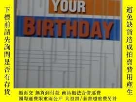 二手書博民逛書店英文原版罕見You Are Your Birthday by E