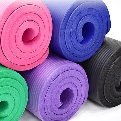 20MM加厚NBR健身墊(送束帶)瑜珈墊止滑墊防滑墊運動墊.遊戲墊野餐墊防潮墊子.地墊床墊睡墊