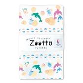 【日本製】【Zootto】日本製 今治毛巾動物系列 擦面巾 水果海豚圖案 SD-4085 - 日本製 今治毛巾