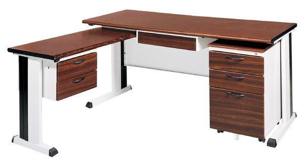 【IS空間美學】BKD150L秘書桌(整組)