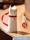 韓版文具袋筆袋創意個性搞怪可愛貓咪網紅文具盒日繫潮兒童小學 快速出貨