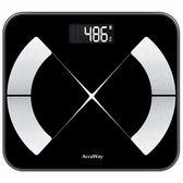 愛康唯智能脂肪稱家用成人小巧精準女小型人體減肥電子體重體脂秤 喵小姐
