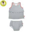 德國Lassig-嬰幼兒抗UV二件式泳裝-普普風點點