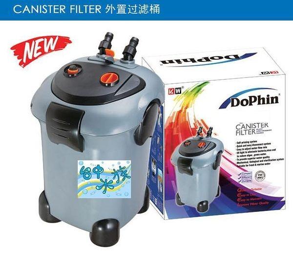 {台中水族}海豚CF-600  紫外線光UV-C 外置圓桶過濾器650L/H  特價 適用池塘 大型缸