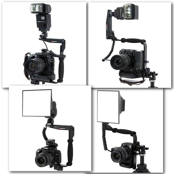 黑熊館 635型托架 C型 閃光燈支架 單眼相機 外接離機閃燈 固定座 固定支架 可轉式型支架 1/4螺絲孔