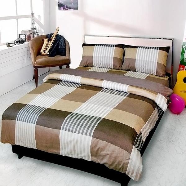【Victoria】單人三件式純棉被套床包組-典藏_TRP多利寶
