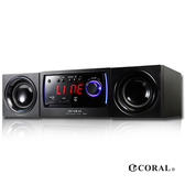 【CORAL】PM301 DVD迷你床頭音響
