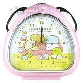 〔小禮堂〕角落生物 三角型鬧鐘《粉.沙發》時鐘.精緻盒裝 4548626-08147