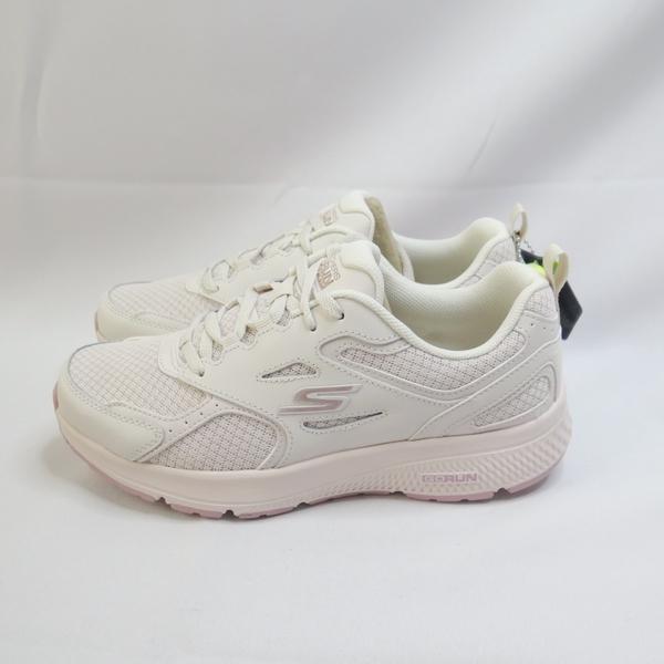 Skechers GO RUN CONSISTENT 女款 慢跑鞋 128075NAT 白【iSport】