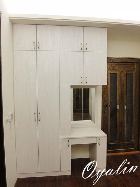 【系統家具】化妝檯+衣櫃 套房式整體設計 總價49360特價34552