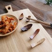 日式木制餐具精品手工打磨原木筷架筷子托