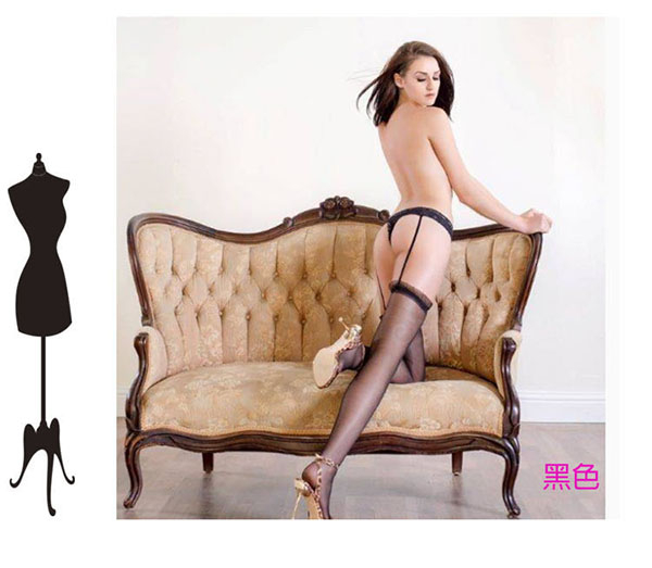 絲襪 一體成型吊帶絲襪 連內褲性感吊帶襪大腿襪~情人禮物~流行E線B8017