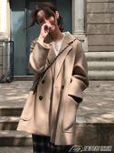 大衣女中長款秋季流行韓版新款過膝呢子森繫外套秋冬學生  潮流前線