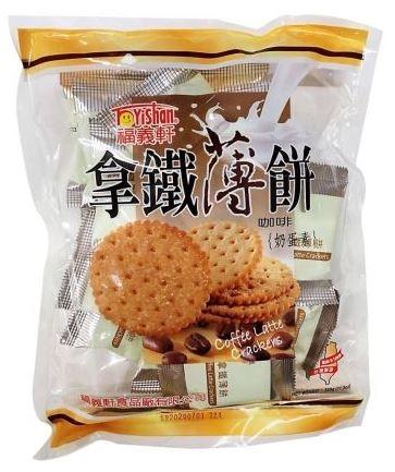 <普渡特賣>福義軒量販包拿鐵薄餅(320g/包)