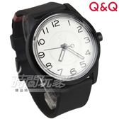 Q&Q SmileSolar 日本機芯 經典升級版數字款 太陽能電力男錶 防水手錶 042古典爵士 黑x白面 RP00J042Y
