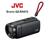JVC Everio GZ-RX670 內建 64GB 數位攝影機 【 加贈64GB記憶卡+原廠隨身攝影包+大清潔組】 公司貨