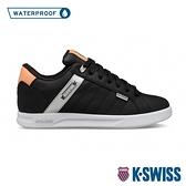 K-SWISS Lundahl WP防水系列 時尚運動鞋-女-黑/銀/粉橘