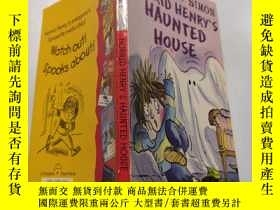 二手書博民逛書店horrid罕見henry s haunted house : 可怕的亨利鬼屋.Y212829