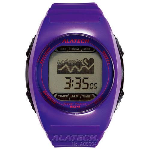 大毛生活館●ALATECH FB005PU 專業健身 心率錶 – 紫色