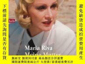 二手書博民逛書店Meine罕見Mutter Marlene.Y364682 Maria Riva Btb Verlag 出版