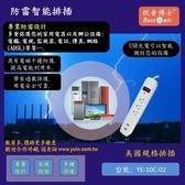 [Yueh-In] UL認證2個裝 3孔防雷插座延長線 帶USB快充 美國.台灣.日本通用YE-10C(悅音Bassonic)